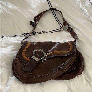 Christian Dior Vintage Saddle Bag - Authentic
